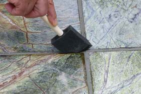 Permanent marble sealer can be used